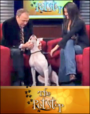 Betsy Palazzo on News 12's The Pet Stop