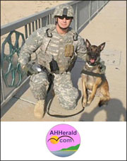 Volunteer Day to Support U. S. Military Working Dog Teams